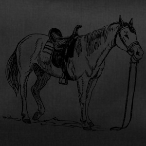 Horse, pony, mare, stallion, - Duffel Bag