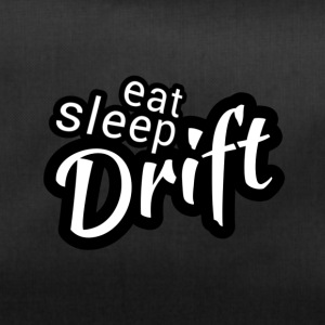 Eat sleep Drift black white - Duffel Bag