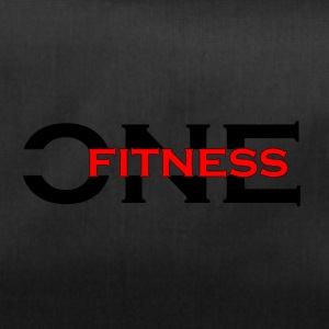 ONE FITNESS Logo (Without Globe) - Sportstaske