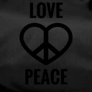 LOVE AND PEACE - Duffel Bag