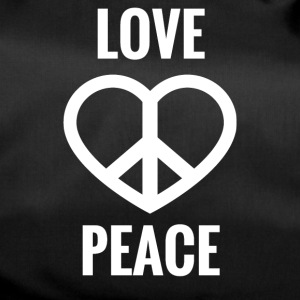 LOVE AND PEACE - Sporttasche