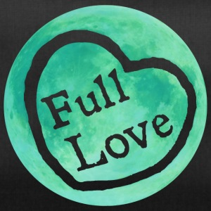 Full Moon Love (zielony) - Torba sportowa