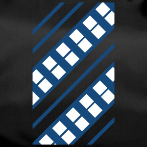 Blue White Pattern - Sportväska