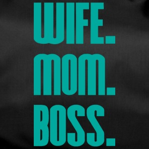 Wife Mom Boss mothers day - mother - Duffel Bag