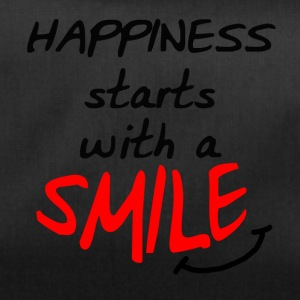 Happiness starts with a smile - Duffel Bag