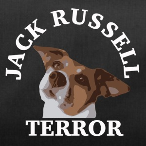 Jack Russell terror2 white - Duffel Bag