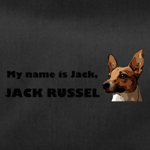 my name is jack Russell - Sporttasche