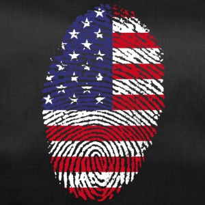 AMERICAN FINGERPRINT T-SHIRT - Duffel Bag