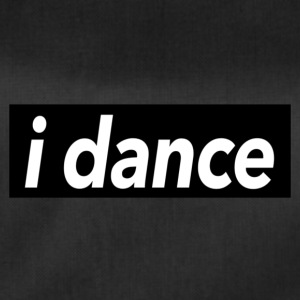 I dance black - Dance Shirts - Duffel Bag