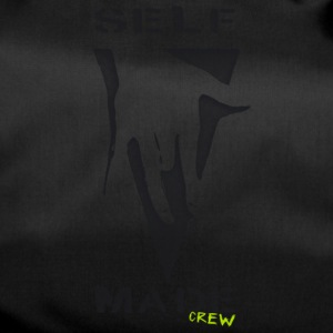 "Self Made Crew logo ""poignée de main"". Design by Ostap - Sac de sport"