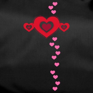Valentine heart in love amour chance Flirt - Sac de sport