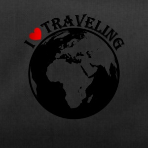 I love traveling - Duffel Bag