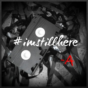 #imstillhere by q.eeveedesigns - Duffel Bag