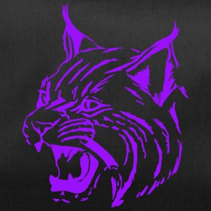 Tiger purple, lynx, cat, big cat - Duffel Bag
