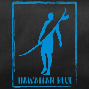 Hawaiian Blue Surfer logo - Sporttas