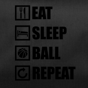 EAT SLEEP BALL REPEAT - Sporttasche