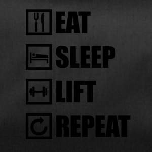 EAT SLEEP LIFT REPEAT - Sporttasche