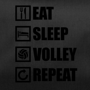 EAT SLEEP VOLLEY REPEAT - Sporttasche