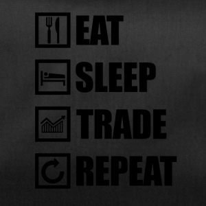EAT SLEEP TRADE REPEAT - Sporttasche