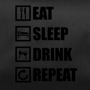 EAT SLEEP DRINK REPEAT - Sporttasche