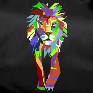 Lion Pop Art - Torba sportowa