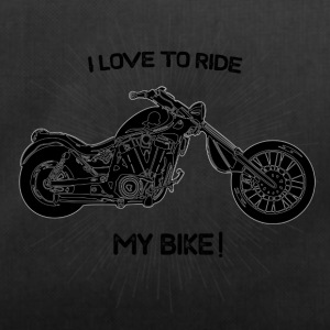 I Love to ride! - Duffel Bag