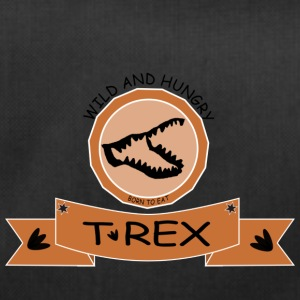 T REX WILD AND HUNGRY - Duffel Bag