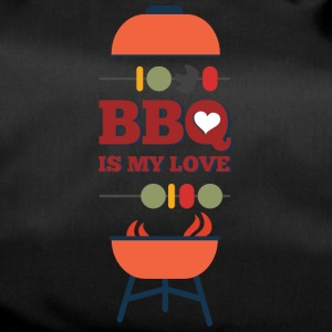 BBQ IS MY LOVE - Sporttas