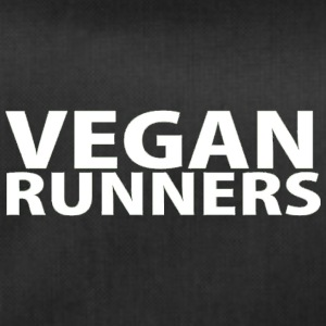 Vegan Runners lettering (white) - Duffel Bag