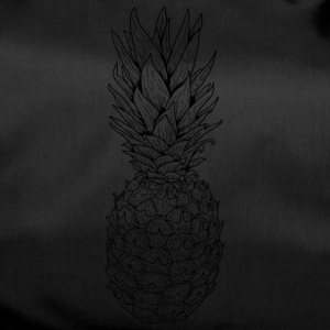 Pineapple black - Duffel Bag