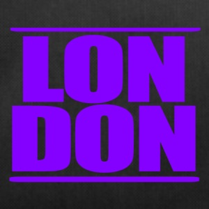 LON DON Logo Purple - Duffel Bag