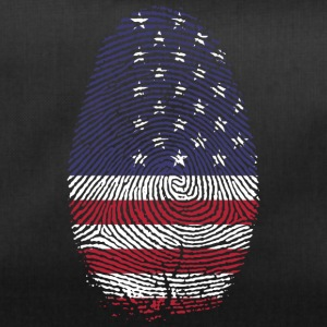 USA Amerika Stars and Stripes flagg tommelen - Sportsbag