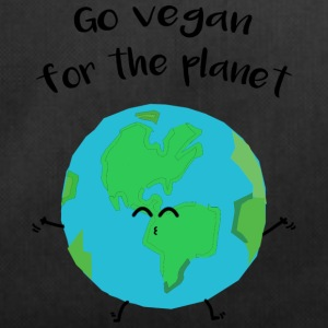 "Vegan for the planet - ""Vegan for the planet"" - Duffel Bag"