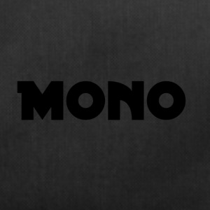 Mono in black - Duffel Bag