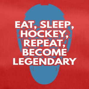 Hockey: Eat, Sleep, Hockey, Repeat, Become - Duffel Bag