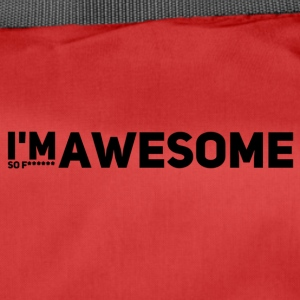 i'm so f* awesome - Sporttasche