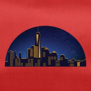 NY night skyline - Duffel Bag