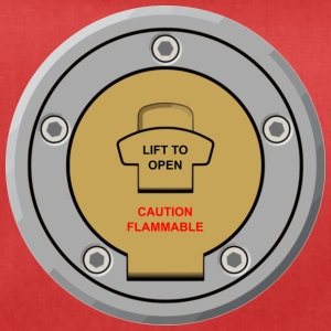 "Motorcycle Fuel Cap Design ""Lift te openen"" - Sporttas"