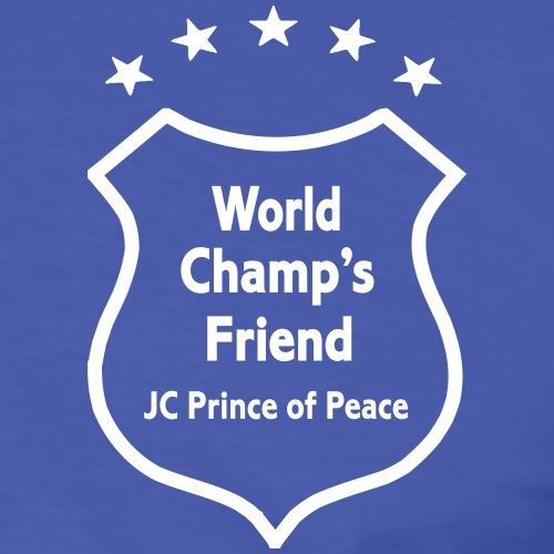 World Champion's Friend - Männer Kontrast-T-Shirt