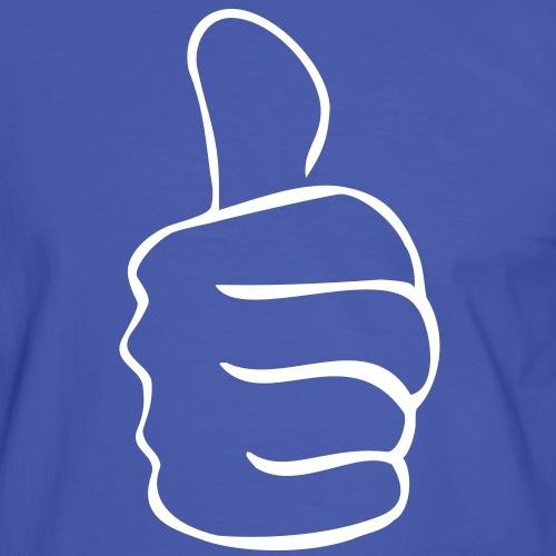 HB Daumen - Männer Kontrast-T-Shirt