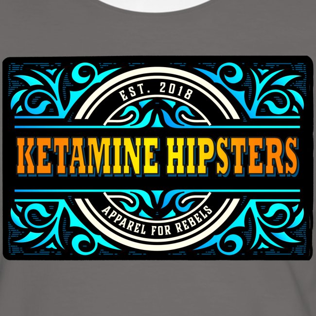 """Black Vintage"" - KETAMINE HIPSTERS Apparel"