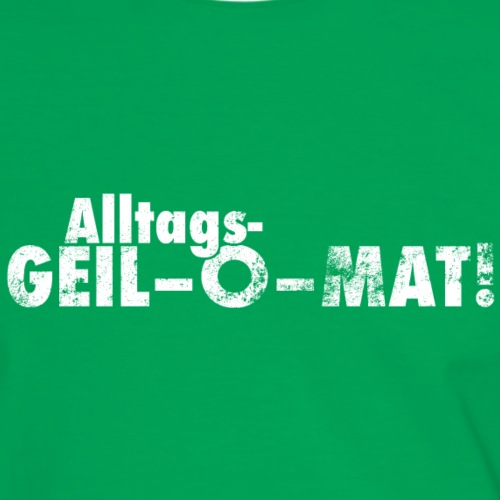 GEIL-O-MAT - Männer Kontrast-T-Shirt