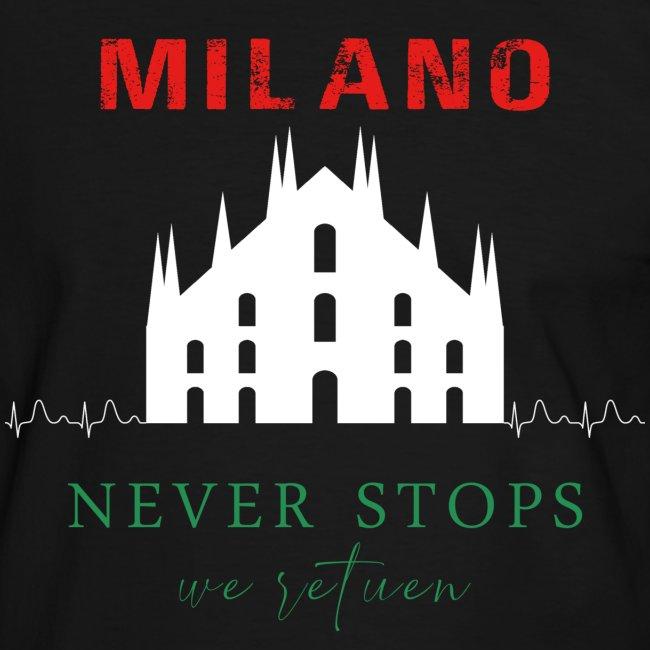 MILANO NEVER STOPS T-SHIRT