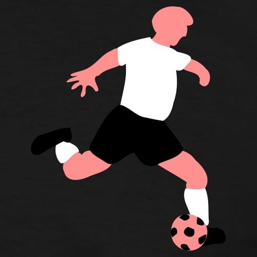 fußballer - Männer Kontrast-T-Shirt