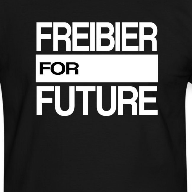 Freibier for future Fridays For Future