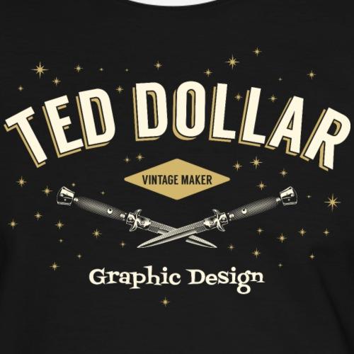 Vintage Maker - T-shirt contrasté Homme