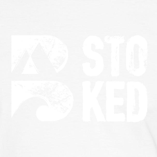 bstoked logo white