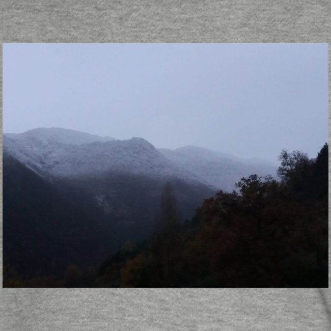 Collina con neve