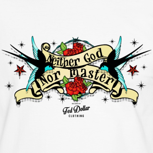 Neither god nor master - T-shirt contrasté Homme