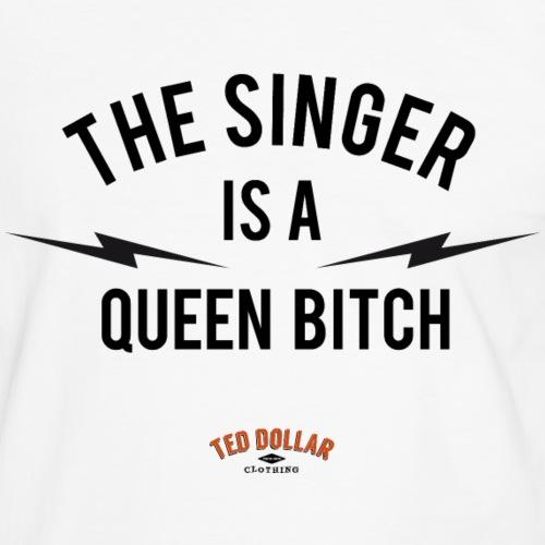 Queen Bitch - T-shirt contrasté Homme